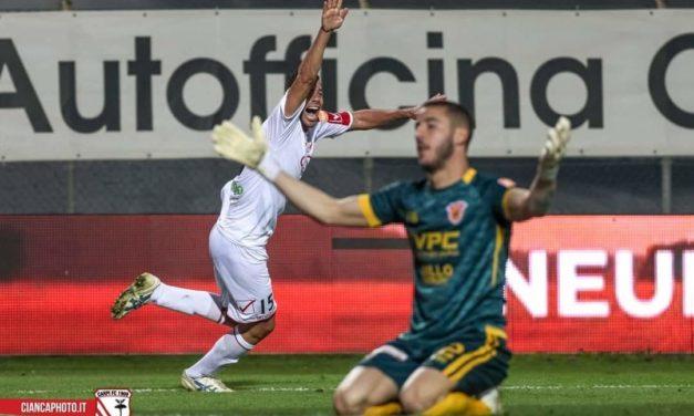 Serie B, Benevento ancora rimontato: pari beffa col Carpi !