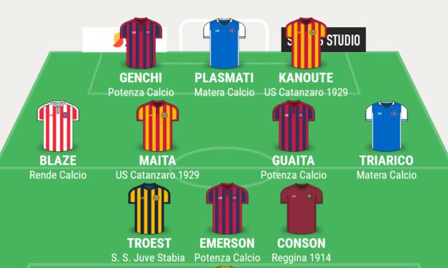 SERIE C – GIRONE C | La TOP 11 di Campania Football