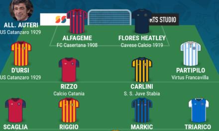 SERIE C – GIRONE C | La TOP 11 della tredicesima giornata di Campania Football