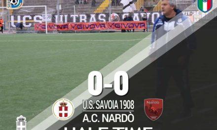 Serie D, il Savoia non sfonda il muro del Nardò: legni e poca precisione fermano i bianchi!