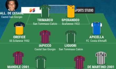 CAMPIONATO ECCELLENZA – GIRONE B| La TOP 11 della tredicesima giornata di Campania Football