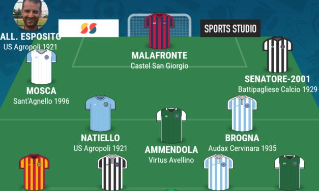 CAMPIONATO ECCELLENZA – GIRONE B| La TOP 11 della quattordicesima giornata di Campania Football