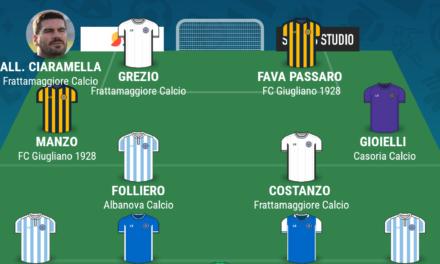 CAMPIONATO ECCELLENZA – GIRONE A | La TOP 11 della quindicesima giornata di Campania Football