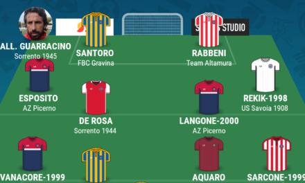 SERIE D – GIRONE H| La TOP 11 della sedicesima giornata di Campania Football