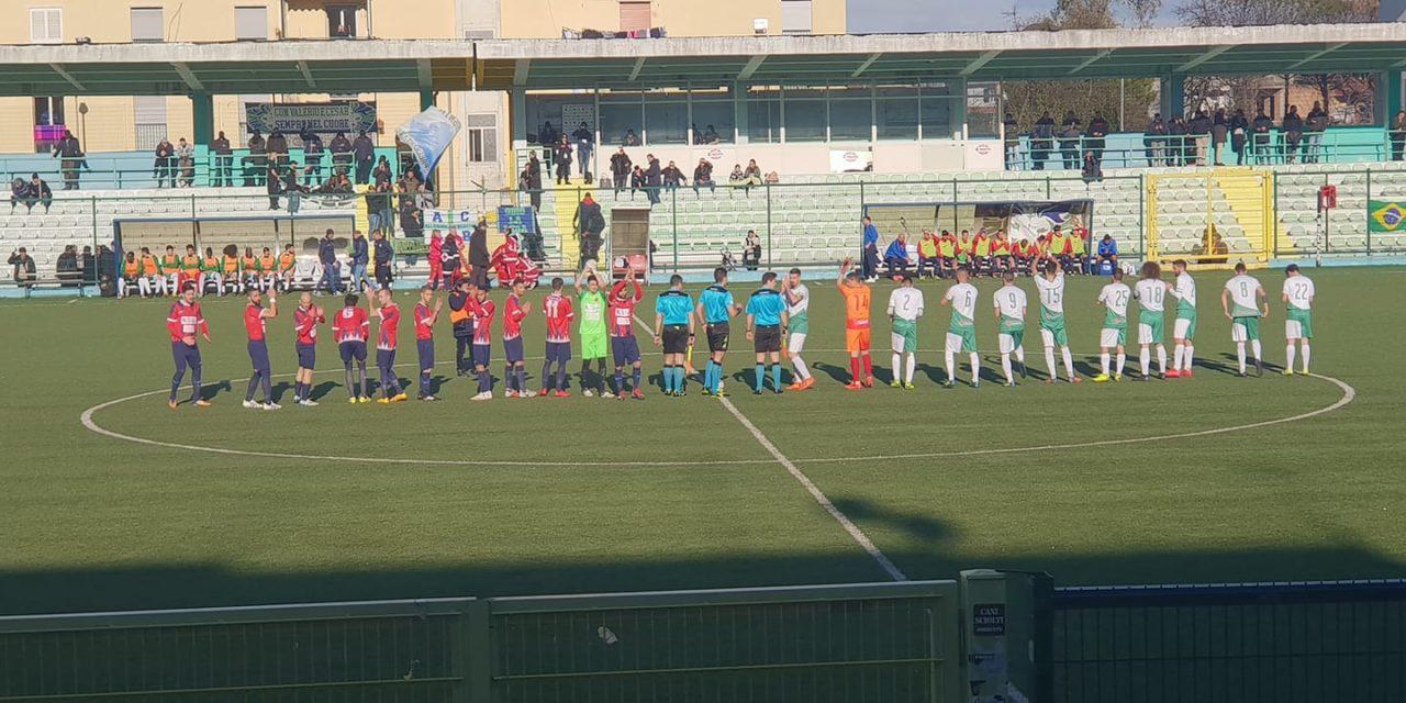"""Afragolese, contro l'Afro seconda sconfitta in campionato con """"giallo"""" finale"""