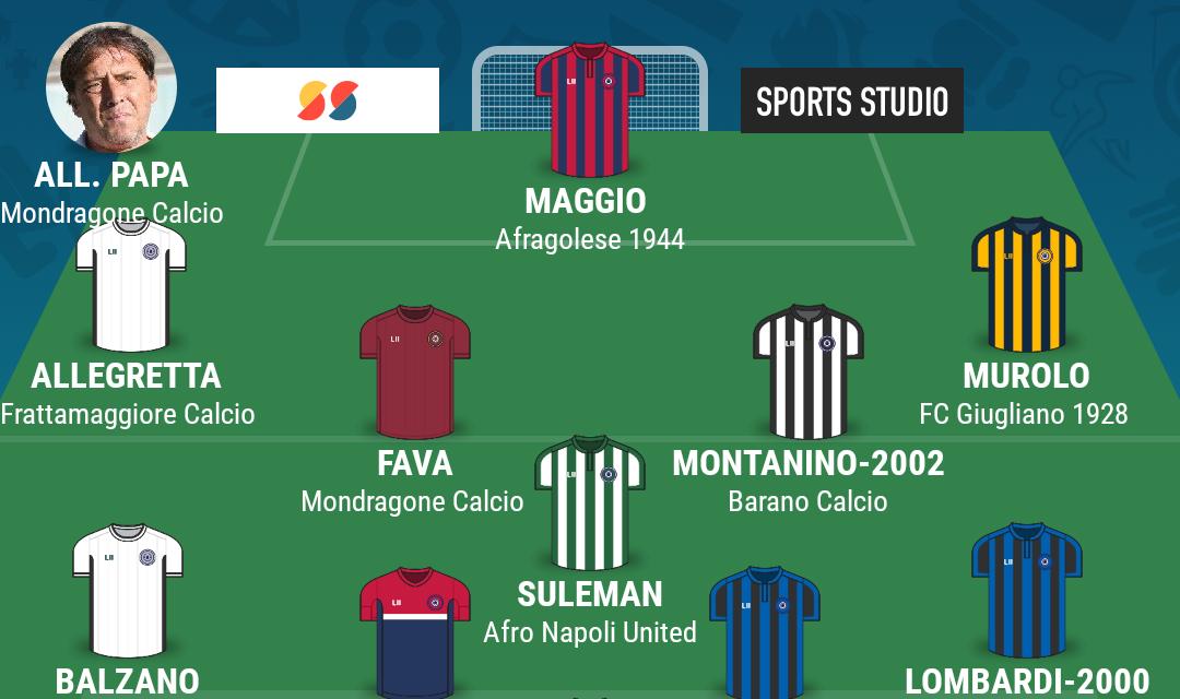 CAMPIONATO ECCELLENZA – GIRONE A | La TOP 11 della diciannovesima giornata di Campania Football