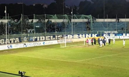 Fidelis Andria-Gelbison vince la noia, buon punto per i cilentani