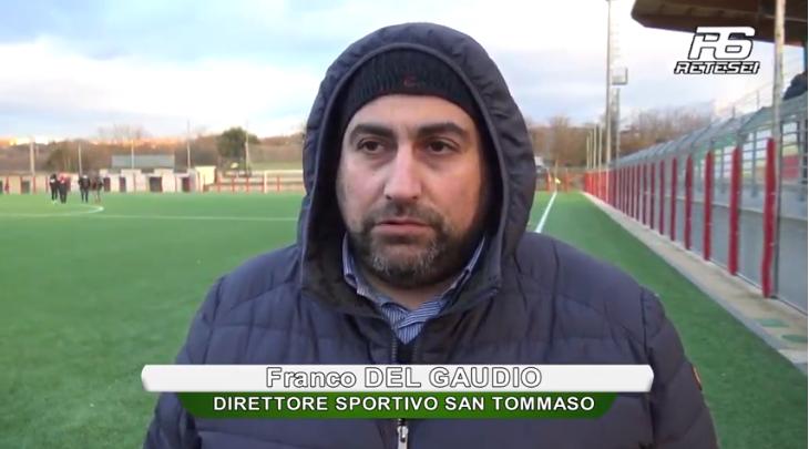"""Del Gaudio si coccola il suo San Tommaso: """"Grande prova, è un campionato equilibrato"""""""