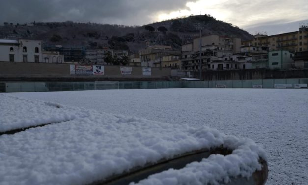 Terza Categoria, neve e ghiaccio: rinviate molte gare in varie province
