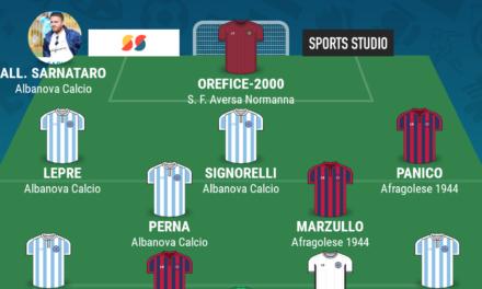 CAMPIONATO ECCELLENZA – GIRONE A | La TOP 11 della 24esima giornata di Campania Football