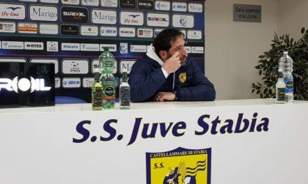 """Fabio Caserta nel post gara di Juve Stabia – Reggina: """"la squadra ha strameritato di vincere"""""""