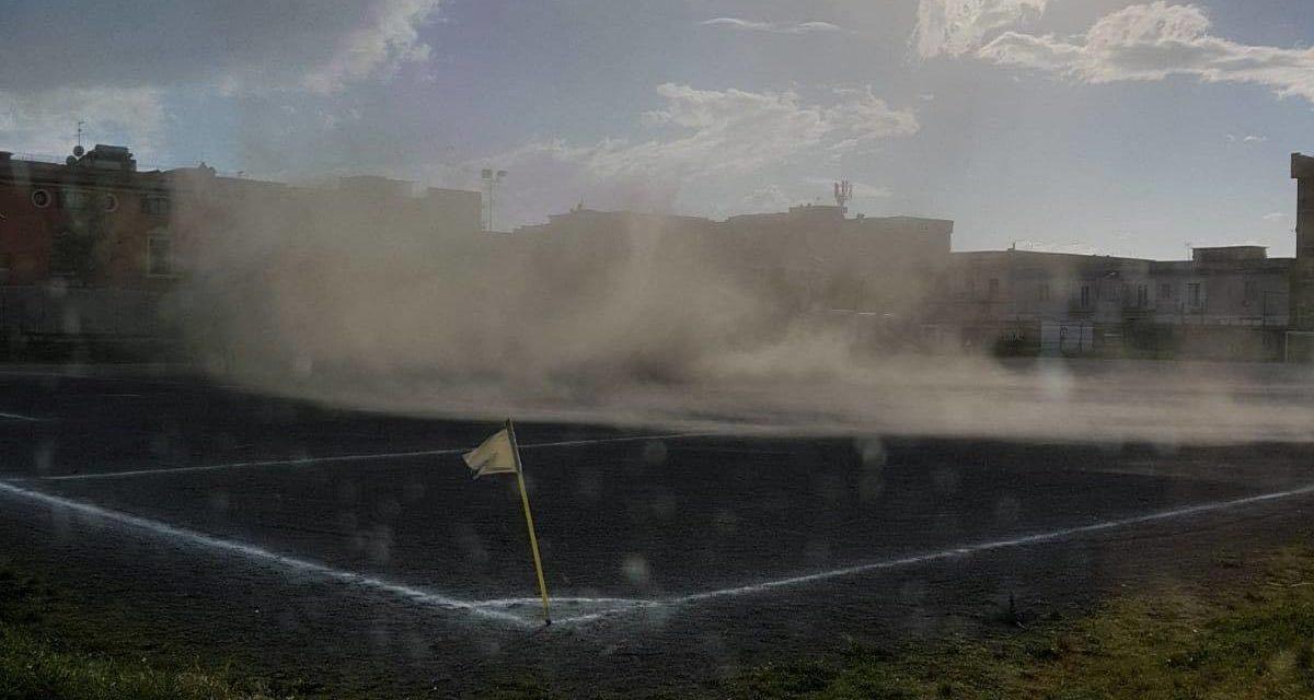 Neve, gelo e vento forte paralizzano i campionati dilettanti: il racconto di un sabato confusionario