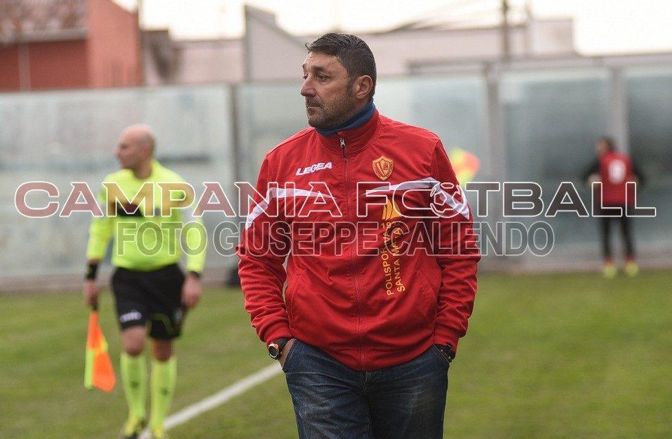 """Pirozzi ci crede: """"Santa Maria possiamo vincere con il Cervinara"""""""