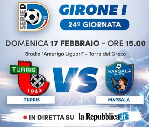 Turris-Marsala in diretta su Repubblica.it