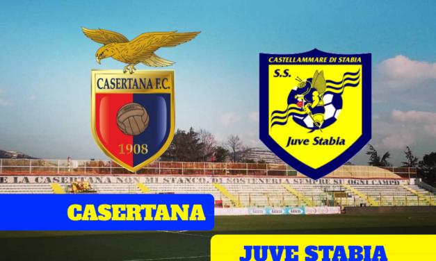 Casertana – Juve Stabia: termina in pareggio il derby del silenzio