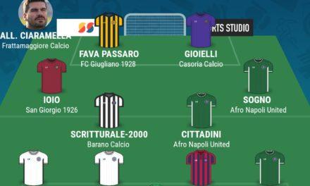 CAMPIONATO ECCELLENZA – GIRONE A   La TOP 11 della 28esima giornata di Campania Football