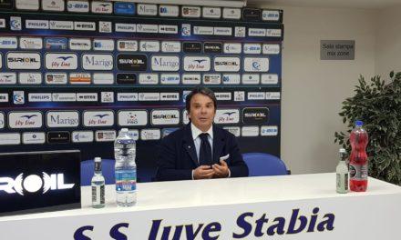 """Post gara Juve Stabia – Rieti, Ezio Capuano: """"sono felice dell'accoglienza dei tifosi stabiesi"""""""