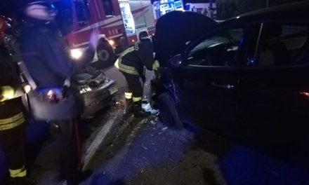 Notte di paura a Montemiletto: calciatori del Lions Mons Militum coinvolti in un incidente stradale