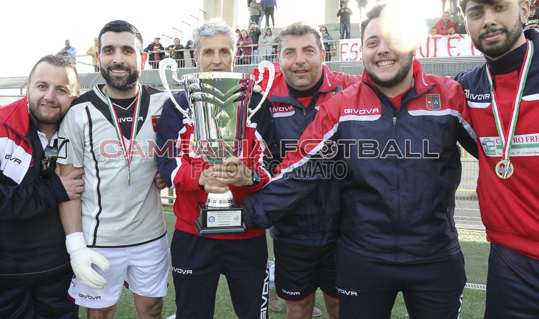 Coppa Campania 1ª Categoria, oggi l'atto finale a San Michele di Serino