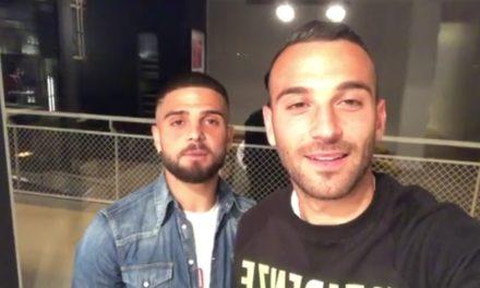 VIDEO | Frattese: gli auguri speciali per la D dai fratelli Insigne