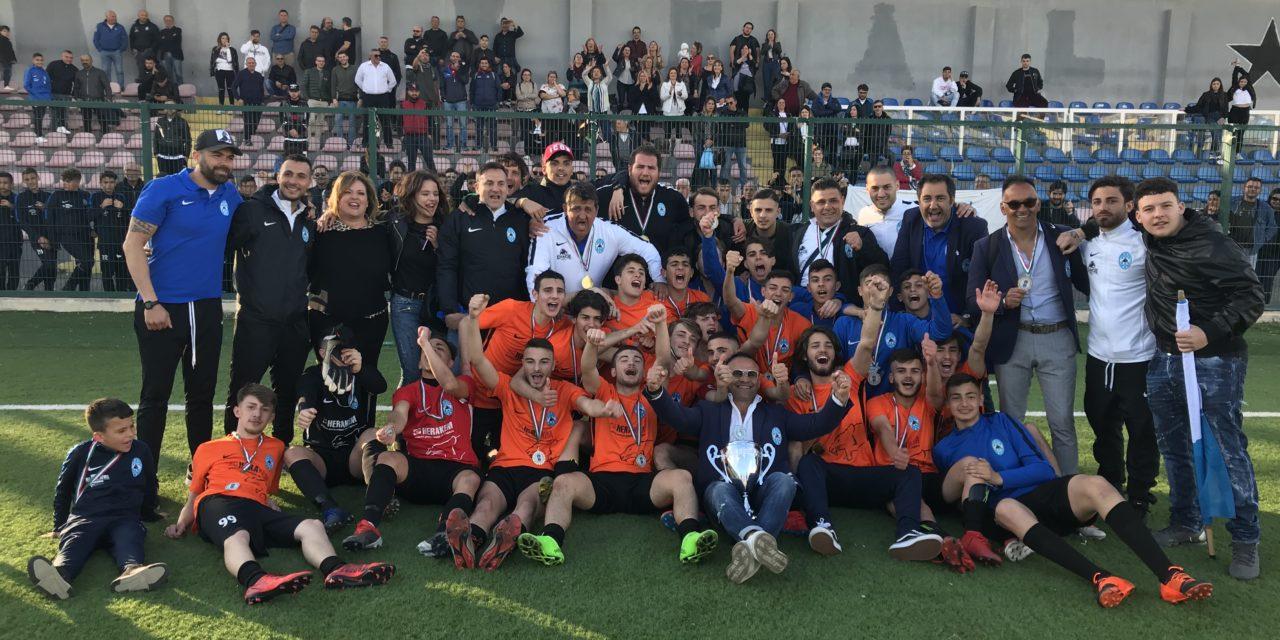 Allievi Regionale, Sport Village campione: vittoria in rimonta (3-2) contro il Monteruscello