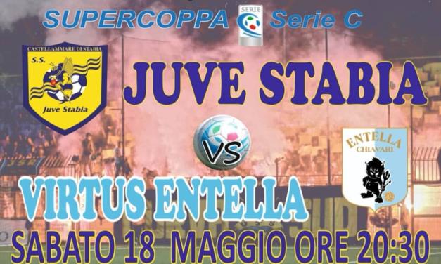 Juve Stabia – Virtus Entella, Supercoppa di Serie C: Caserta lancia i titolarissimi, pensa ad alcuni cambi l'Entella