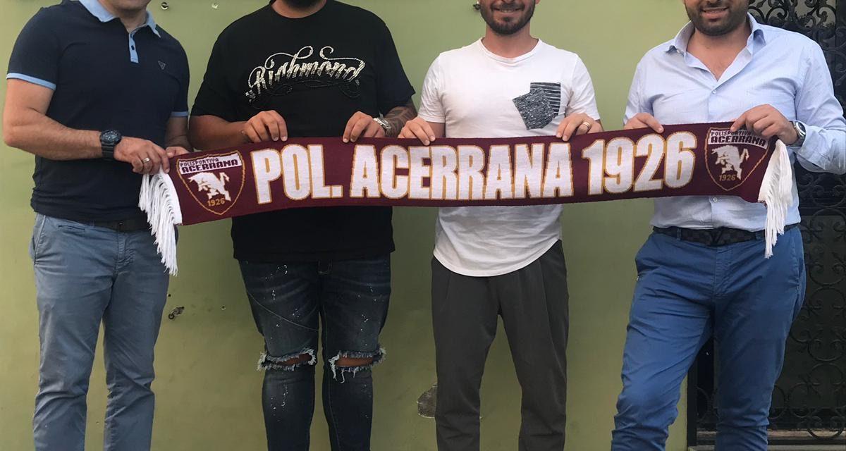UFFICIALE   Acerrana, colpo in mediana: arriva Raffaele Corsale