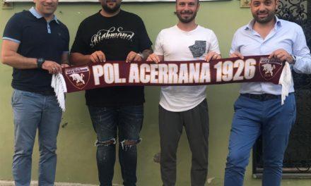 UFFICIALE | Acerrana, colpo in mediana: arriva Raffaele Corsale