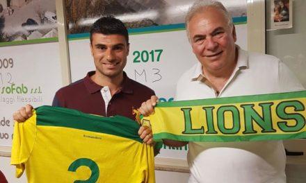UFFICIALE   Promozione, Lione Mons Militum: firma il difensore centrale Capossela