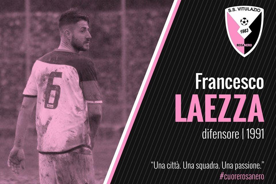 UFFICIALE|Il Vitulazio conferma anche Laezza