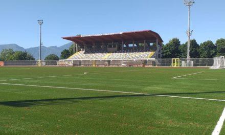 Stadio Squitieri: il restyling è completo