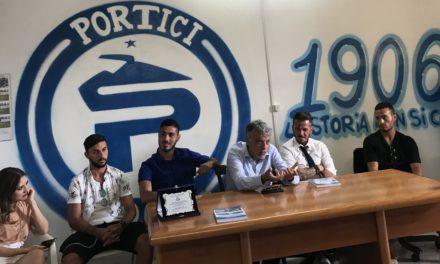 """Il Portici si presenta ai media, il Presidente Ragosta: """"Puntiamo a migliorare il 4 posto"""""""
