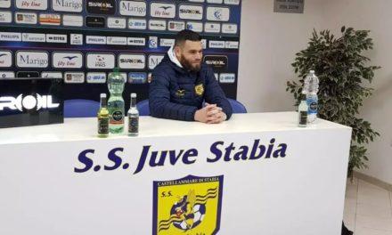 Juve Stabia, continua a delinearsi il centrocampo per la B: pronto un rinnovo di contratto per Adriano Mezavilla
