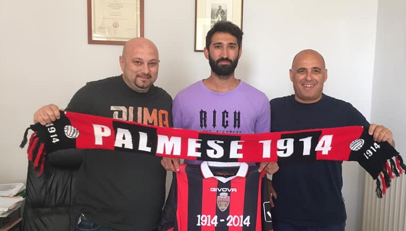 UFFICIALE| La Palmese rinforza la retroguardia. Arriva Simone Cioffi