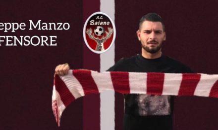 UFFICIALE  Colpo under per la difesa del Baiano. Arriva Giuseppe Manzo