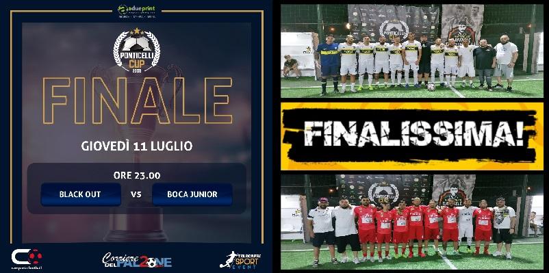 Semifinali Ponticelli Cup-Lello Perinelli. Un super Scielzo travolge il PSG, spettacolo tra Boca e Mega 7