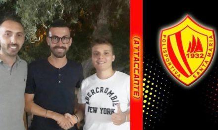 UFFICIALE | Eccellenza, Santa Maria: ecco l'attaccante Pellegrino