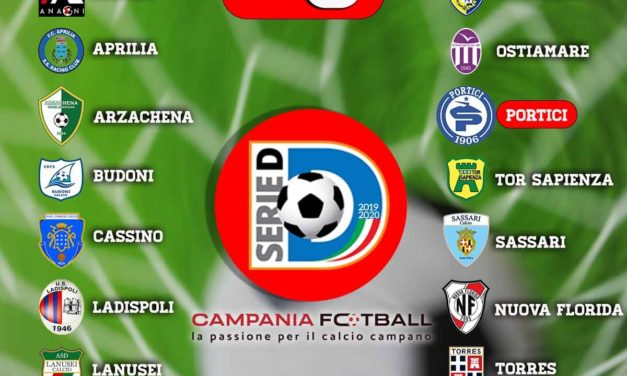 Serie D Girone G 2019/20: ecco le prime 3 giornate