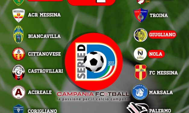Serie D Girone I 2019/20: ecco le prime 3 giornate