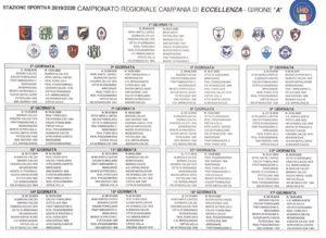 Calendario Eccellenza Pugliese.Eccellenza Girone A 2019 20 Guarda Il Calendario Completo