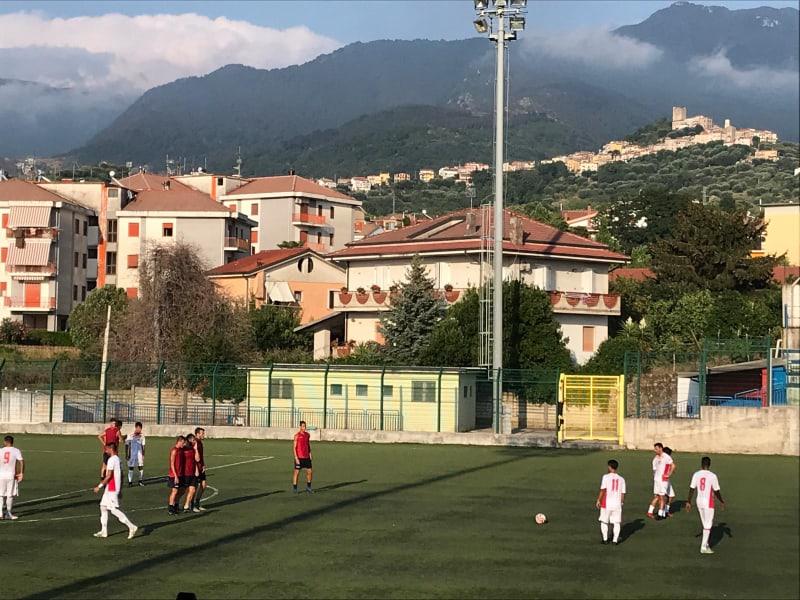 AMICHEVOLE – Buon pareggio per la Polisportiva Santa Maria nel derby cilentano contro la Gelbison