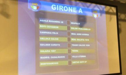 Promozione Girone A 2019/20: scarica il calendario completo