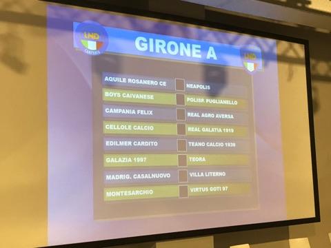 Calendario Promozione Campania.Promozione Girone A 2019 20 Scarica Il Calendario Completo
