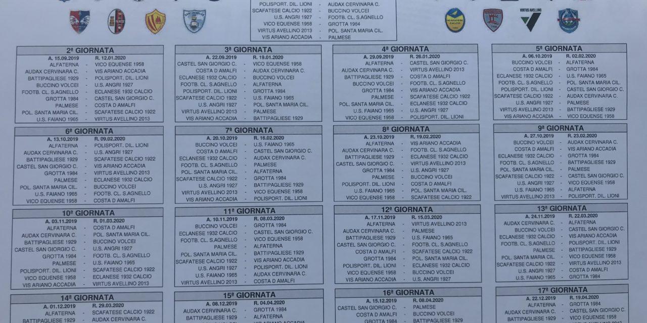 Calendario Promozione Campania.Eccellenza Girone B 2019 20 Guarda Il Calendario Completo