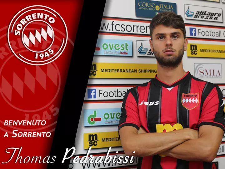 UFFICIALE | Serie D, Sorrento: colpaccio Pedrabissi