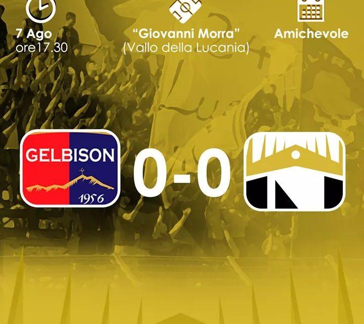 Serie D, amichevole: pareggio a reti inviolate tra Nola e Gelbison