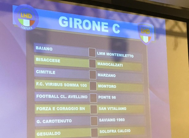 Promozione Girone C 2019/20: scarica il calendario completo