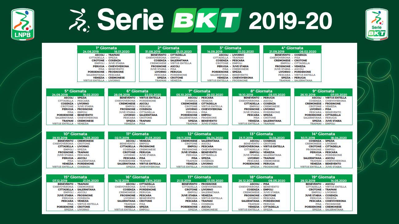 Calendario Gare Pesca Al Colpo 2020.Serie B Via Alle Danze Ecco Il Calendario Della Stagione
