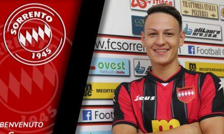 UFFICIALE – Serie D, Sorrento: è slovacco il nuovo centrocampista