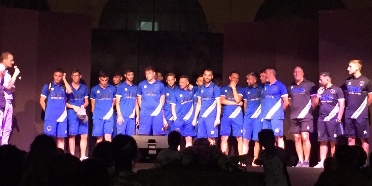 Il Vico Equense sale sul palco: ieri sera la presentazione della squadra